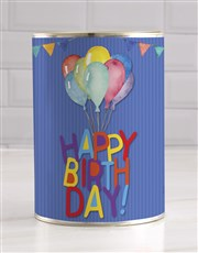 Balloons Teddy in a Tin