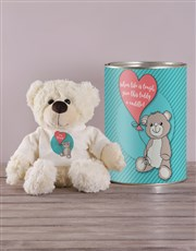Sorry Teddy in a Tin