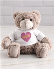 Sorry Heart Teddy in a Tin