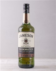Jameson Caskmates and Hipflask Crate