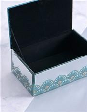 Glam Mirror Trinket Box Large