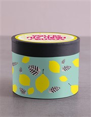 Lemon Hat Box and Treats