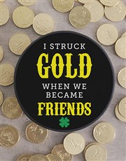 Hat Box with Friendship Chocolate Coins