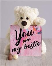 Teddy and Bestie Chocolate Box