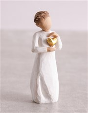 Keepsake Girl Willow Tree Figurine
