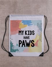 Kids Have Paws Frisbee and Bag