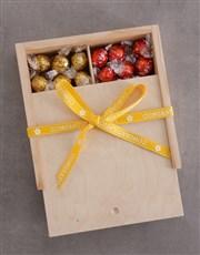 Congratulations Ribbon Lindt Treasure Box