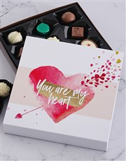 You Are My Heart Chocolate Tray