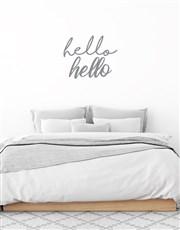 Hello Hello Wall Vinyl