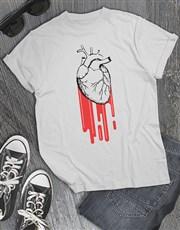 Heart Burst T Shirt