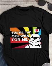 Obi Wan Love Colour T Shirt