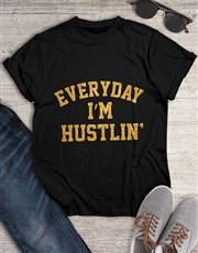 Hustling Everyday Glitter T Shirt
