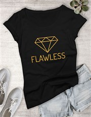 Flawless Diamond Ladies T Shirt