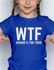 WTF Kids T Shirt