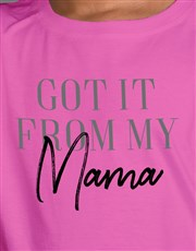 From My Mama Kids T Shirt