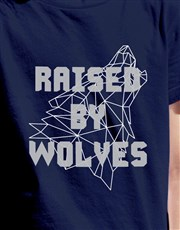 Raised By Wolves Kids T Shirt
