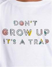 Never Grow Up Kids T Shirt