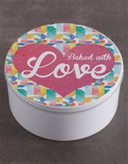 Baked With Love Gourmet Cookie Tin