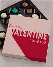 To My Valentine Teddy Hamper
