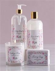 Vintage Rose Floral Pink Delights