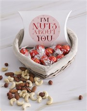 Love And Romance Nuts Basket