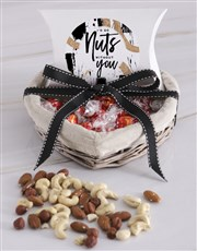 Nuts Without You Basket