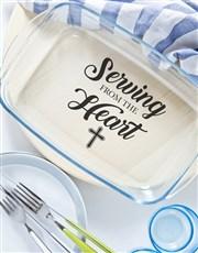 Serving of Faith Dish