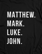 Matthew Mark Luke John Christian Shirt