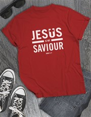 Jesus Is My Saviour Christian Shirt