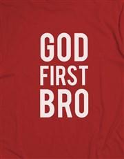 God First Bro Christian Shirt
