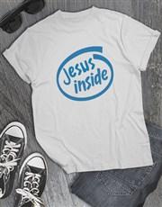 Jesus Inside Christian Shirt
