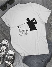 Golf Silhouette Shirt