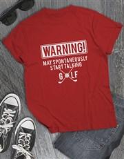 Spontaneous Golf Talk Shirt