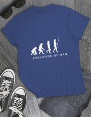 Evolution Of Golfers Shirt