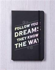 Follow your Dreams A5 Notebook