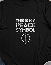Gamers Peace Symbol Tshirt