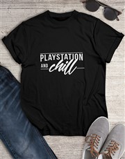 Playstation and Chill Gaming Tshirt
