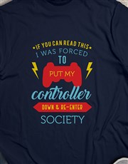 If You Can Read This Gaming Tshirt