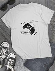Gamers Apology Tshirt
