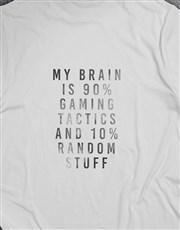 Gaming Tactics and Random Stuff Tshirt