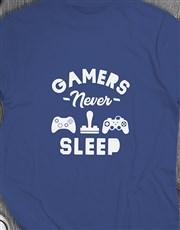 Gamers Never Sleep Tshirt