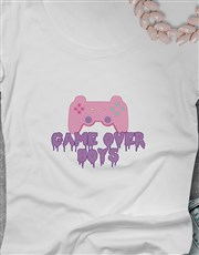 Game Over Ladies Tshirt
