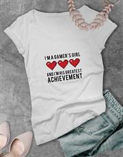Gamers Greatest Achievement Tshirt
