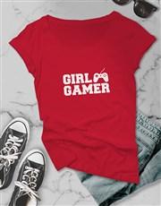 Girl Gamer Ladies Tshirt