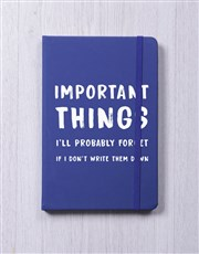 Do Not Forget A5 Notebook