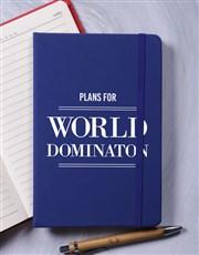 World Domination A5 Notebook