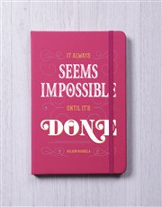 Nothing is Impossible A5 Notebook