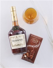 Hennessy and Lindt Box