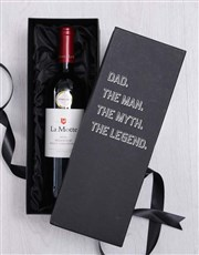 Dad The Legend In Giftbox