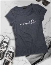 Modern Mom Life Ladies T-Shirt